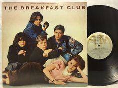 The Breakfast Club - Soundtrack LP - Original 1985 A&M LP SP-5045 777 Record
