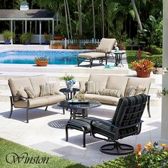 Stunning Outdoor Ideas Outdoor Spaces Outdoor Living House Party Pool Ideas Outdoor Furniture Closets Patios Entryway