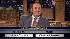 Kevin Spacey And Jimmy Fallon Doing Celebrity Impressions Is Off The Charts Terrific