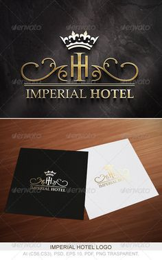 Imperial Hotel Logo  #GraphicRiver         Imperial Hotel Logo  What is Included?  - Ai Cs6,Cs3.  - EPS 10.  - Psd.  - PNG Trasparent.  - Pdf.  - Free font inside read me file.  If you like, please rate      Created: 16March13 GraphicsFilesIncluded: PhotoshopPSD #TransparentPNG #VectorEPS #AIIllustrator Layered: Yes MinimumAdobeCSVersion: CS3 Resolution: Resizable Tags: crown #elegant #flower #hotel #imperial #logo #luxury #royal