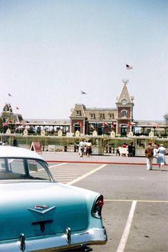 Disneyland, 1956.
