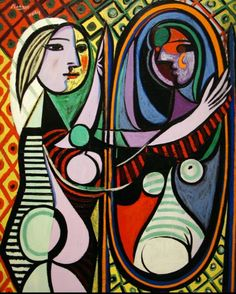 Girl Before Mirror 1932 Pablo Picasso