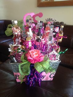 Happy 21st Birthday Gift Basket For My Daughter 22nd