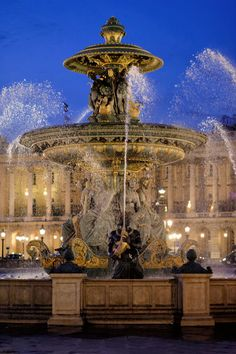 Fountaine de fleuves, Paris