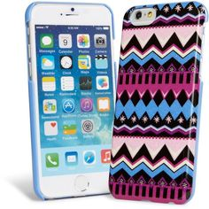 Vera Bradley Snap On Case for iPhone 6 in Alpine Intarsia ($38) ❤ liked on Polyvore featuring accessories, tech accessories, phone cases, phones, alpine intarsia and vera bradley