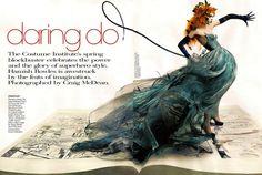 Daring Do, Vogue US, May 2008 … Craig Coco Rocha by McDean … Grace Coddington (style) … Julien d'Ys (hair) …