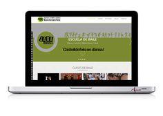 Sitio Web de la Escuela de Baile Jara Dansa en Castelldefels Marketing Digital, Color, School, Colour, Colors