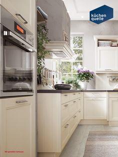 Die Landhausküche Norina 9985 Magnolie Lack Wirkt Schick Und Gemütlich  Zugleich. Durch Ihre Offene L
