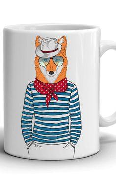 Manager mug/Boyfriend Gift/Сoffee mug/Work mug/Office mug/Best gift/Birthday gift/Present/Stylish coffee mug/For Him/Stylish fox/ Mug Crafts, Boyfriend Gifts, No Response, Birthday Gifts, Coffee Mugs, Print Design, Best Gifts, Fox, Management
