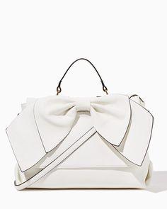Morgana Bow Satchel | Fashion Handbags & Purses - Holiday | charming charlie