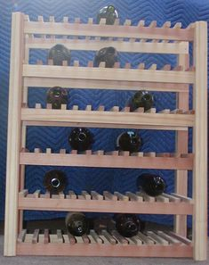 Redwood Wine Rack 60 Bottle ** See this great product. (This is an affiliate link) #CozyHomeDecor