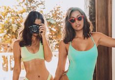 How to Take the Perfect Summer Photos According to Beach Girls – Photography, Landscape photography, Photography tips Beach Pink, Beach Girls, Beach Girl Style, Hot Beach, Summer Beach, High Cut Bikini, Bikini Set, Bikini Beach, Bikini Swimwear