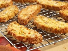 Sweet Potato Biscotti is the perfect treat to give you sweetie today!