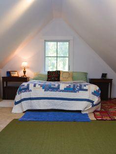 Harbinger- Upstairs loft bedroom   Tumbleweed Tiny House Company