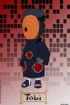 Chibi - Tobi by on DeviantArt Akatsuki, Otaku Anime, Anime Naruto, Link Chibi, Tobi Obito, Anime Chibi, Kawaii, Deviantart, Stranger Things