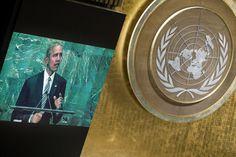 Barack Obama, presidentti United States of America, käsitellään yleinen keskustelu yleiskokouksen seitsemäskymmenesensimmäinen istunto.  20 syyskuu 2016 (UN Photo)