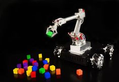 A desktop #robot that can play chess, tic-tac-toe and ping pong against a human http://blog.atmel.com/2015/09/15/7bot-is-a-desktop-robot-arm-that-can-see-think-and-learn/… #arduino