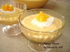 Mango Mousse | Fauzias Kitchen Fun