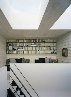 loft at villa plus by waldemarson berglund arkitekter.