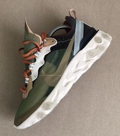 3ee6597711ab4 Coinestar on Instagram  Best react CW   Nike react Element 87   undercover lab Mist Green