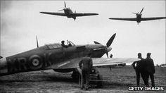An Eagle squadron. Spitfire lands in Irish bog; pilot interred at Camp Curragh.
