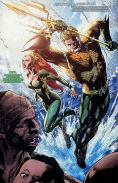 Aquaman and Mera - Couples idea for my redheaded wife and myself.