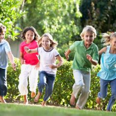 Classic Outdoor Games: four square, Freeze Tag, Hide & Seek, hopscotch, H-O-R-S-E, kick the can, Red Light/Green Light, Red Rover,