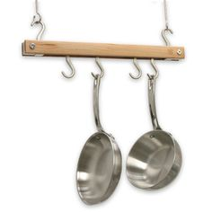 J K Adams Bar Hanging Pot Rack Reviews Wayfair Pans
