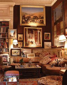Costume Jewelry Designer Kenneth Jay Lane's New York Home