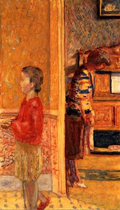 The Vestibule / Pierre Bonnard - 1927
