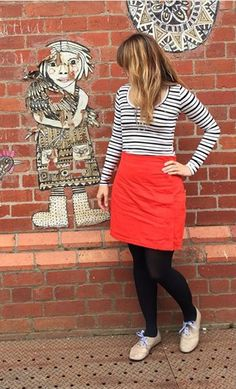The fabric studio's Arielle skirt - sewing pattern by Tilly and the Buttons