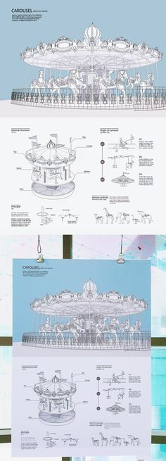 Choi Gayoung │ menual │ Carousel Information on Behance Information Design, User Guide, Presentation Design, Editorial Design, Carousel, Branding, Layout, Graphic Design, Architecture