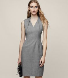 c917e1ce903 REISS - AUSTIN DRESS TAILORED DRESS Robes Emblématiques