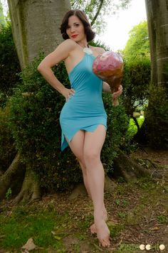 Betty Rubble Cosplay by Cinnamoncosplay Cool Costumes, Cosplay Costumes, Betty Rubble, Super Heroine, Comic Costume, Comics Girls, Dc Comics, Geek Girls, Best Cosplay