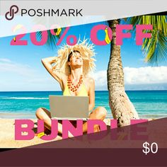 20% OFF BUNDLE Get off 20% in more than 2 items. Come a visit my closet. I'm open to offers Other