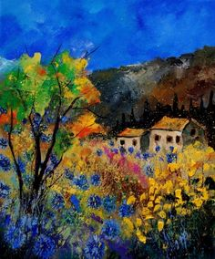 provence 560130, painting by artist ledent pol