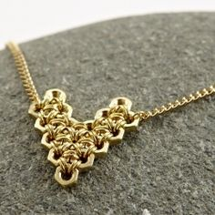 """Easy to make Heart """"Nut"""" Necklace! (from craftgawker.com) You'll get lost looking at creative ideas on their site!!"""