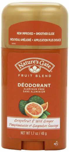 Nature's Gate Organics Fruit Blend Deodorant, Grapefruit and Wild Ginger, 1.7 Ounce