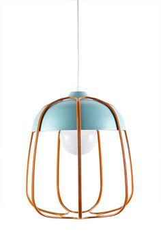 Pendant lamp / original design / wooden / LED CH-AIR Mogg ...