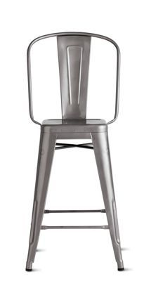 Alfi low back counter stool stools products and low back - Tolix marais counter stool ...