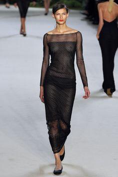 Akris Spring 2013 Ready-to-Wear Fashion Show - Emilia Nawarecka