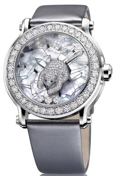 Okay, I'm a Canadian girl, so I have to love Chopard's Polar Bear Diamond watch
