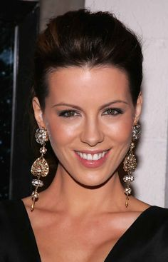 Kate Beckinsale at the premiere of 'Underworld: Evolution' in 2006.