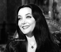 Carolyn Jones as Morticia in The Addams Family