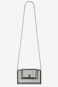 Nasty Gal x Nila Anthony Gridlock Metal Crossbody - Accessories | Bags + Backpacks | Accessories | All