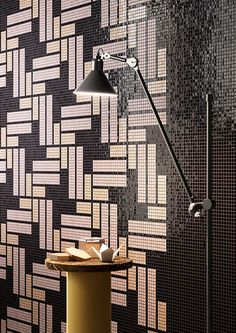 Mosaico+'s most recent collection of Italian mosaic tiles – Africa Now – reinterprets African fabrics in a contemporary way.