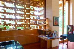 The Gordon House, designed by Frank Lloyd Wright. Near Portland, Oregon