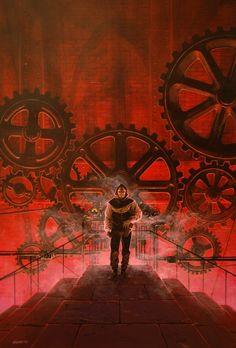 manchu: Cover art for _Hauteville House_ #9, «Le Tombeau de l'Abbé Frollo»  #Steampunk