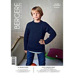 Buy Bergere De France Sport Children's Sweater Knitting Pattern, 70586 Online at johnlewis.com