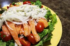 my alpaca farm: 연어샐러드 드레싱만들기 salmon salad dressing recipe